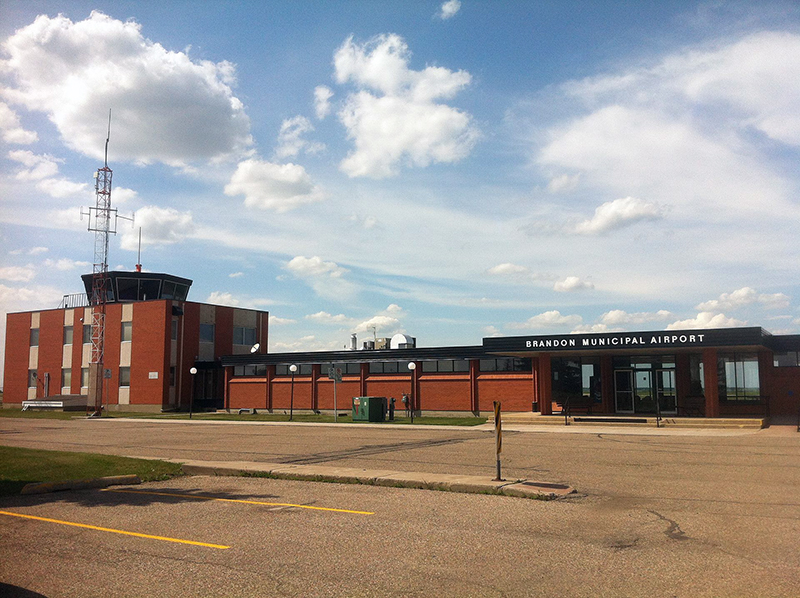 Brandon Municipal Airport 2013