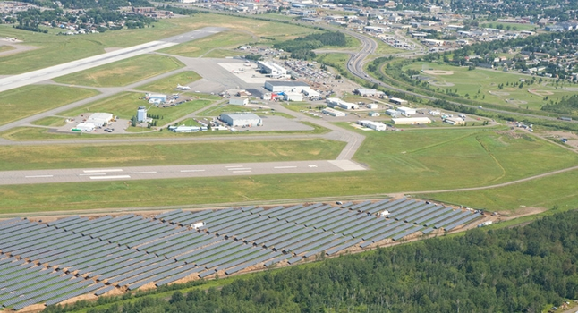 Thunder Bay Airport solar park